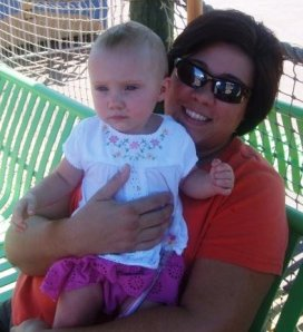 Lori and her grand daughter Caroline