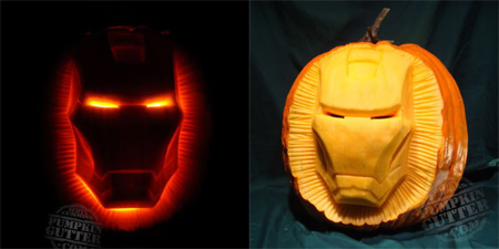 Iron Man Pumpkin