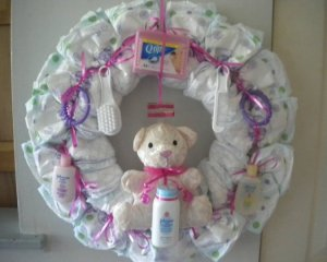 For more information on how you can get on of Holly's Diaper Cakes ...