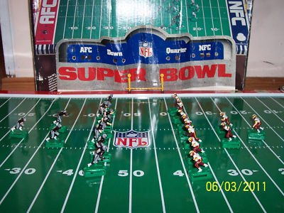 Electric Football Football Figures http://sylviagarza.wordpress.com/2011/12/18/toys-from-the-70s/