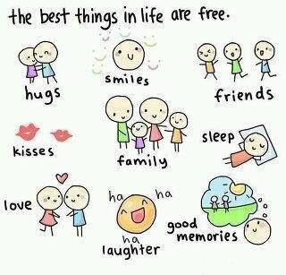 best things in the world are free