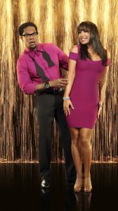 D.L. Hughley and Cheryl Burke - 2
