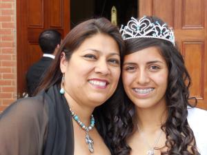 Lisa and her daughter Alyssa.