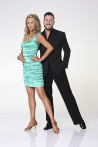 Elizabeth Berkley and Valentin Chmerkovskiy