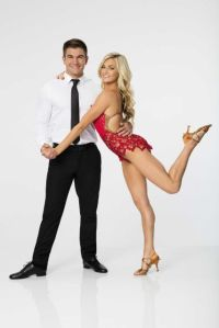 Alek Skarlatos and Lindsay Arnold