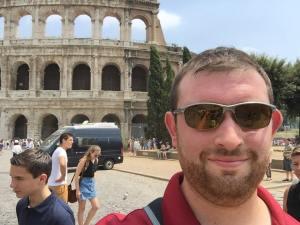 Brad Keesler in Rome